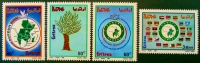 C.O.M.E.S.A 1995 - NEUFS ** - YT 262/65 - MI 63/66 - Erythrée
