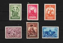 1929 - 10 Anniv. Du Rattachement De La Transylvanie Mi No 346/351 Et Yv No 365/370 MH - Ungebraucht