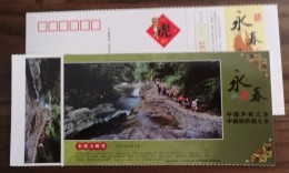 Dongxi Grand Canyon Stream,dongxi River Headstream,CN10 Hometown Of Citrus & Paper Weaving Painting Yongchun PSC - Holidays & Tourism
