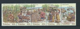 Tokelau 1984 Copra Industry Strip Of 5 MNH - Tokelau