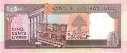 LEBANON P. 68 500 L 1988 UNC - Liban
