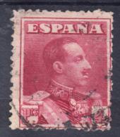 ESPAÑA 1922.ALFONSO XIII.TIPO VAQUER .EDIFIL Nº 322. 4 Pts CARMIN USADO   .SES1003 - Usados