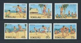 Tokelau 1987 Olympic Sport Set 6 MNH - Tokelau