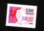 2007-N°4118** HANDBALL FEMININ - Francia