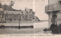 SAINT VALERY EN CAUX -76- LE VIEUX PORT VU DE L´HOTEL DE LA ROTONDE - Saint Valery En Caux
