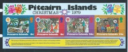 Pitcairn Islands 1979 Christmas IYC Miniature Sheet MNH - Stamps