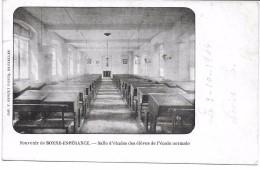 Souvenir De Bonne Espérence ( 7120 ) Salle D' études Des élèves ..... - Estinnes