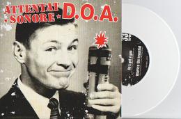 D.O.A. - ATTENTAT SONORE - Split EP - Vinyl BLANC - PUNK - Punk
