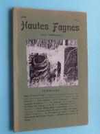 HAUTES FAGNES Revue Trimestrielle N° 2 - Anno 1969 / FANIA ( Zie Foto´s ) ! - Dépliants Touristiques
