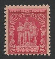 United States, 2 C. 1929, Sc # 680, Mi # 319, MH - Unused Stamps
