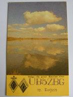 Kt 734 / QSL Radio Card, Volga, Nikolajew Ukraine - Radio Amateur