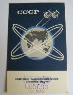 Kt 734 / QSL Radio Card, Cherkassy Ukraine - Radio Amateur
