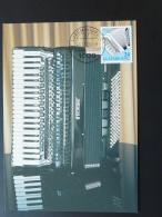 Carte Maximum Card Instrument De Musique Accordeon Accordion Luxembourg 2000 - Cartoline Maximum