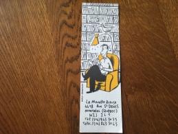 Marque Page La Mouette Rieuse Librairie Dupuy Berberian - Marque-pages