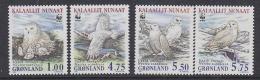Greenland 1999 WWF / Owls 4v ** Mnh (31871) - Unused Stamps