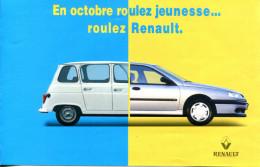 De La Renault 4 ( R4 - 4L )  à La Renault Laguna - Advertising