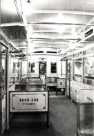 """Métro Paris - Voiture Nord-Sud (1910) : Intérieur - Collection """"Chic Et Choc"""" - Stations, Underground"""