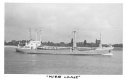 """Photo Bateau Identifié """" Marie Louise """" Compagnie Armoricaine De Transport  Photo Prise Sur La Seine - Barche"""
