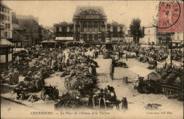 50 - CHERBOURG - MARCHE - TRAMWAY - Cherbourg