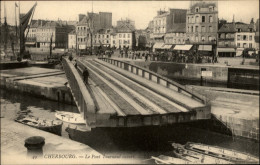 50 - CHERBOURG - PONT TOURNANT - - Cherbourg