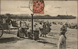 50 - CHERBOURG - PLAGE - MARCHANDE - Cherbourg