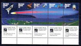 Marshall Islands - 1985 - Appearance Of Halley's Comet - MNH - Marshall