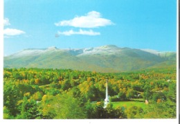 Vt. 147  Stowe, Vermont The First Snows Of Winter Touch Mount Mansfield - United States