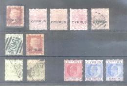 CYPRUS CHIPRE CHYPRE PLUS DE 300 EUROS COTATION YVERT TELLIER VOIR SCAN - Cipro (...-1960)