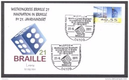 GERMANY ALLEMAGNE 2011. BREILLE 21 CONGRESS. INNOVATION ON BRAILLE IN THE 21 CENTURY - Languages