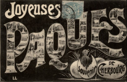 50 - CHERBOURG - JOYEUSES PAQUES - Cherbourg