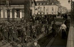 50 - CHERBOURG - CARTE PHOTO - MILITARIA - SOLDATS - MUSIQUE - Cherbourg