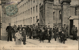 50 - CHERBOURG - CASERNE - INFANTERIE COLONIALE - Cherbourg