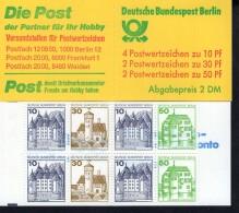 Markenheftchen 11 H Berlin Postfrisch ** MNH - [5] Berlino