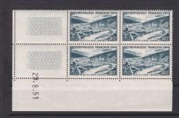 Coin Daté N° 842A** Ardennes (29.8.51) - Dated Corners