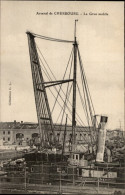 50 - CHERBOURG - PORT - GRUE MOBILE - Cherbourg