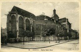Dieppe - Eglise Saint-Rémi - N°24 - Edition G. Artaud - Nantes - BEAU PLAN - Notez L Inscription Au Dos. - Dieppe
