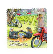 Motorcycle Timbre Timbre Oblitéré  Booklet Stamp 2012 AUSTRALIA  - - Motos