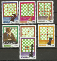 Nicaragua 1983 - Chess , MNH - Schaken