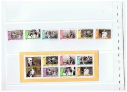 SERIE PERSONNAGES CELEBRES LES OEUVRES DES GRANDS PHOTOGRAPHE FRANCAIS ++ - Marcophilie (Timbres Détachés)