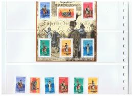 PERSONNAGES  CELEBRES NAPOLEON 1er ET LA GARDE IMPERIALE ++  2004 - Storia Postale (Francobolli Sciolti)