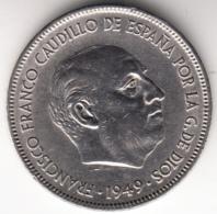 "ESPAÑA 1949 .5 Pts. PRIMER ""DURO"" DE FRANCO.ESTRELLAS 19-50. EBC. CN4256BIS - [ 5] 1949-… : Royaume"