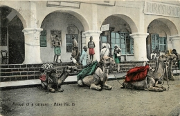 ADEN ARRIVAL  OF A CARAVAN - Yémen