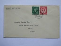 GB 1952 DEFINITIVE FIRST DAY COVER - 1952-.... (Elizabeth II)