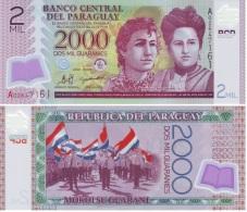 Paraguay 2.000 Guaranies 2008 Pick 228.a UNC - Paraguay
