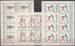 Rusia 1992 Nº5952/54 En HB (8 Series) Nuevo - Blocs & Hojas