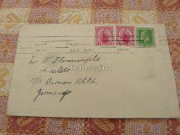 New Zealand Barmen Germany Kuvert Envelope - New Zealand
