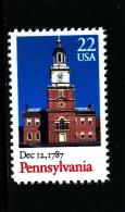 UNITED STATES/USA - 1987  PENNSYLVANIA  MINT NH - Unused Stamps