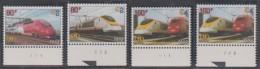 TR 6/8 XX Plaatnummers Eurostar En Thalys - (volledige Set) - Plate Numbers