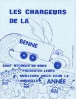 Les Chargeurs De La Benne-bonne Année- éboueurs - Carton De Passage - Sin Clasificación