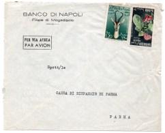 SOMALIA/SOMALIE - AIR MAIL COVER TO ITALY - Somalia (1960-...)